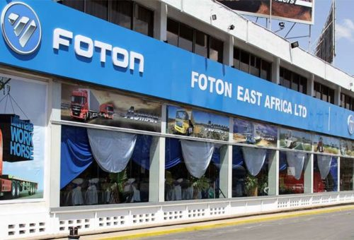 Carmaker Foton returns to Kenya with four dealers